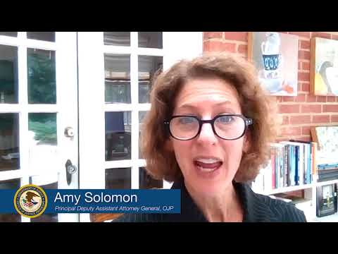 PDAAG Amy Solomon Video Message for 2021 Missing Children's Day Commemoration
