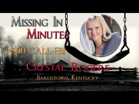 """""""Sept 2021 UPDATE: Missing Crystal Rogers and Bardstown Four Unsolved Homicides"""" Missing in Minutes"""