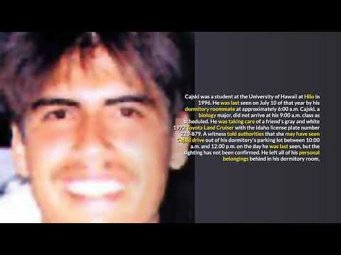 Hawaii Unsolved Missing Persons Cases That Remain Unsolved Mysteries #6