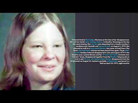Wyoming Unsolved Missing Persons Cases