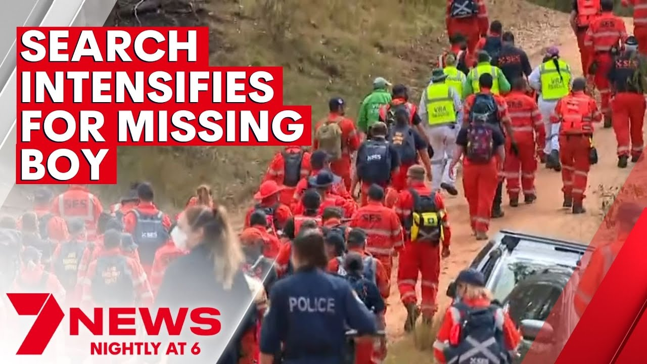 Search for missing three-year-old in NSW enters its third night | 7NEWS