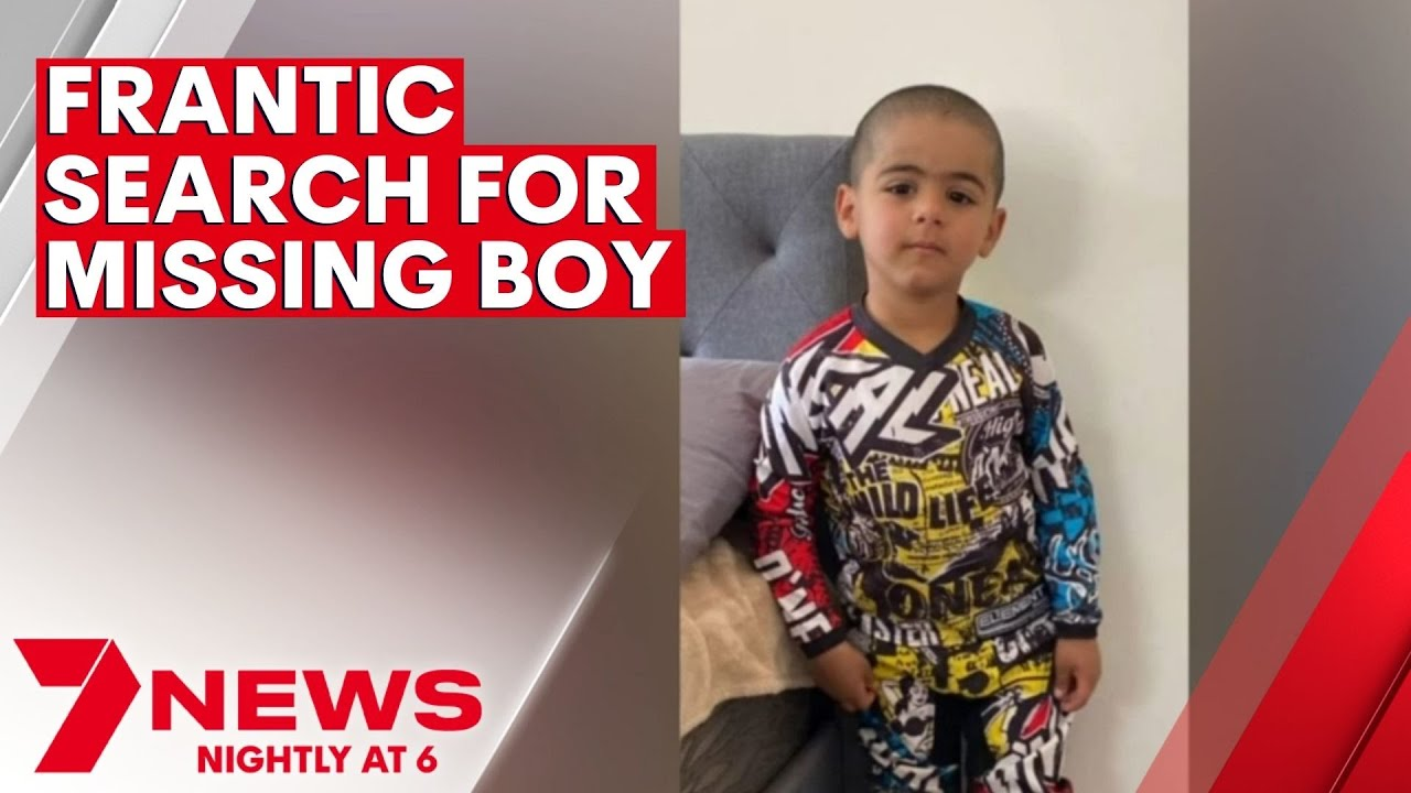 Frantic search underway as three-year-old boy with autism goes missing on NSW property | 7NEWS