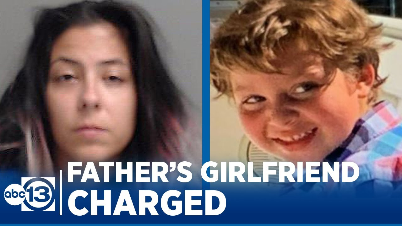 Girlfriend of missing boy's dad charged after body found