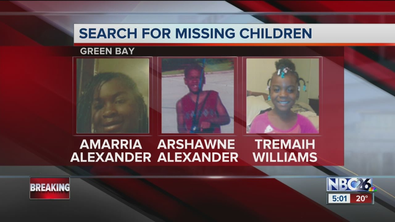 NBC26 Today missing children in Green Bay