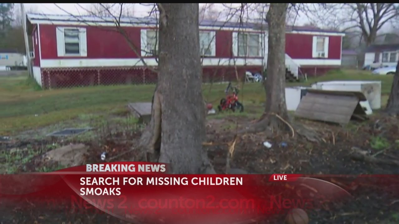 Search for missing children in Colleton County