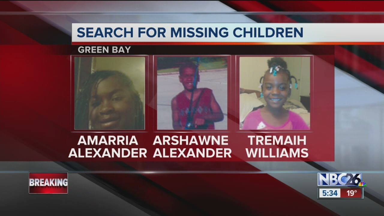 NBC26 Today three children missing in Green Bay