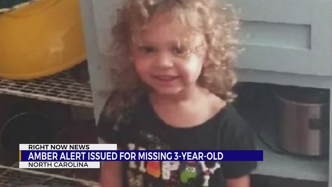 Active Amber Alert for missing 3-year-old