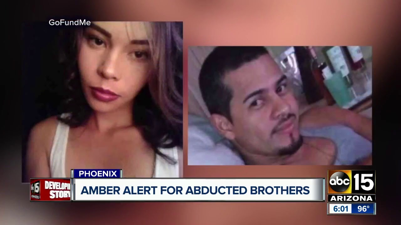 Amber Alert still active for abducted Phoenix boys