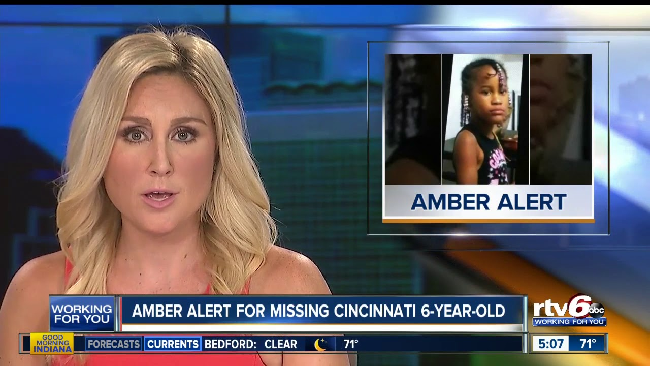 Amber Alert still active for 6-year-old from Cincinnati
