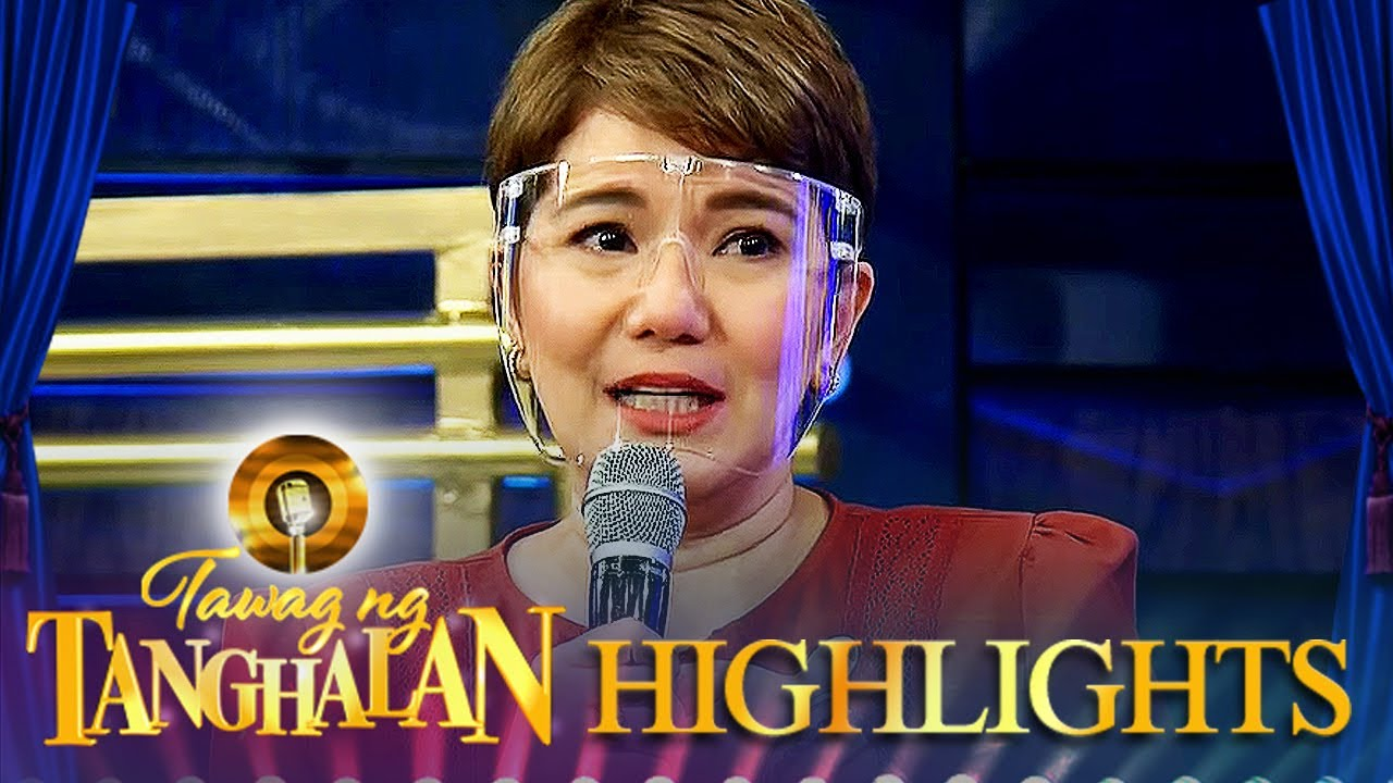 Tyang Amy becomes emotional as she talks about missing her children   Tawag ng Tanghalan