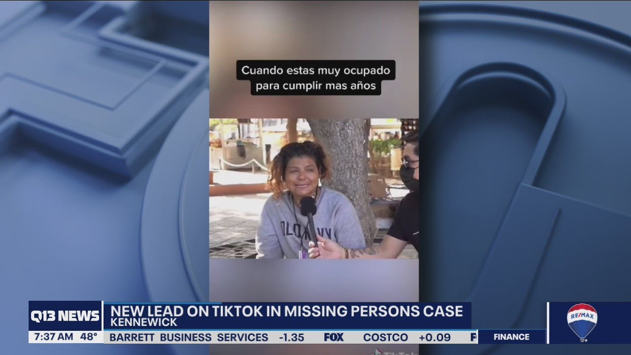 New lead on Tik Tok in Washington missing persons case