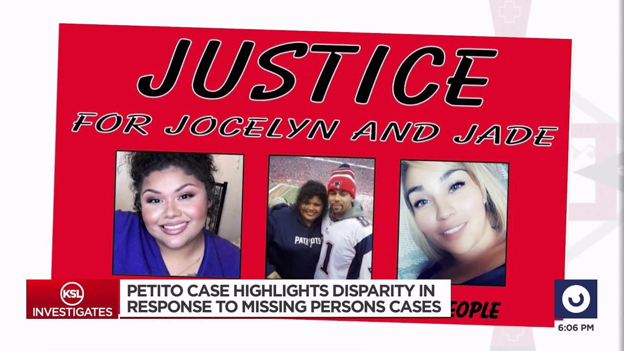 Gabby Petito's case highlights racial disparities in response to missing persons cases