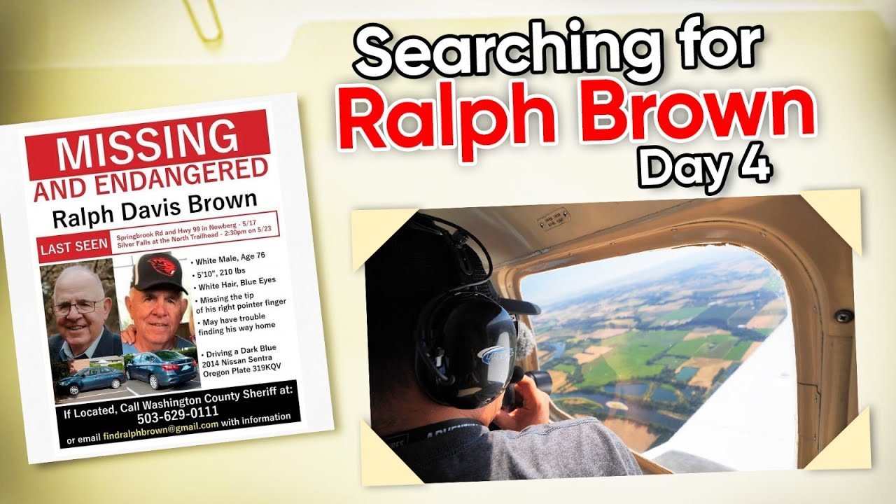 COLD CASE: Ralph Brown (Part 4) Missing Person Aerial Search Documentary