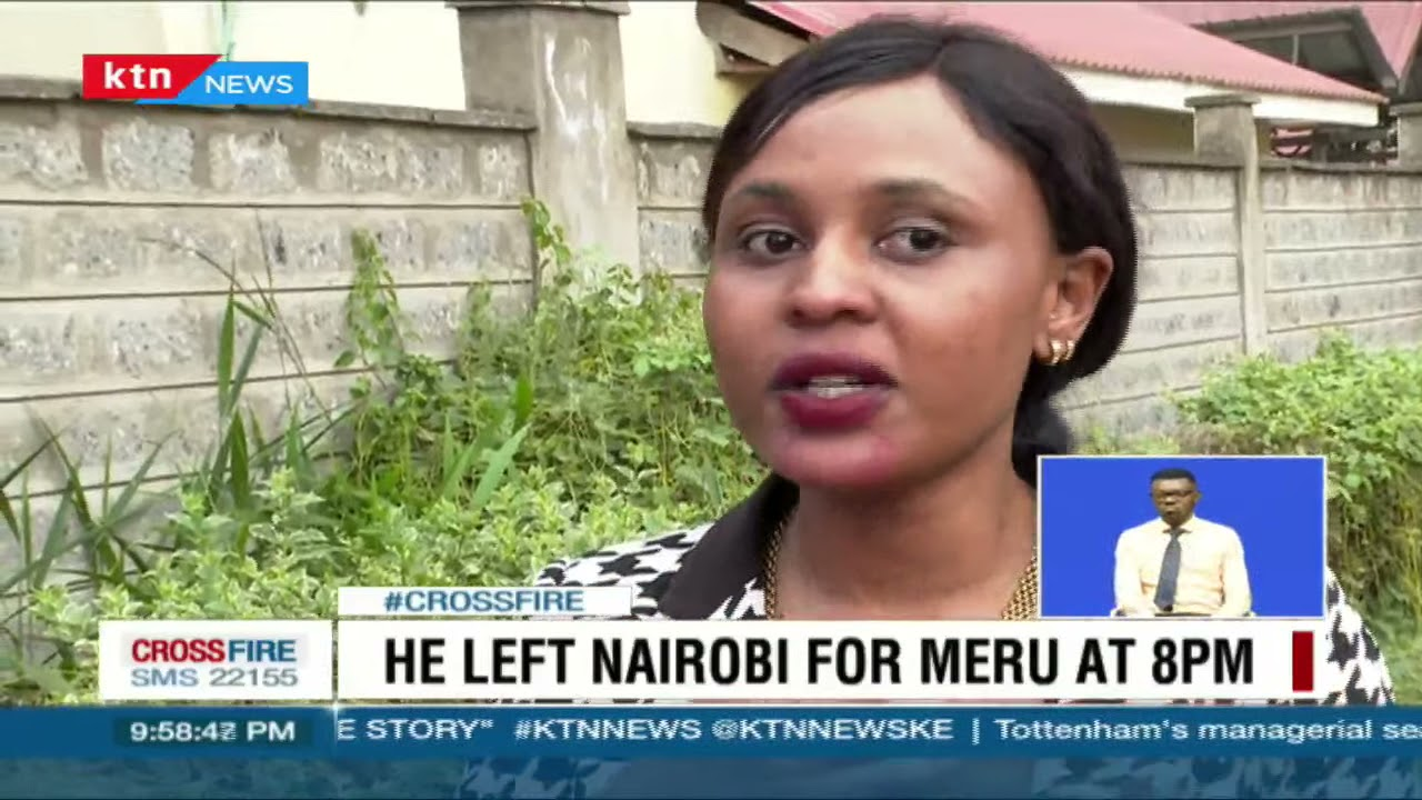 Family of security consultant Mwenda Mbijiwe files missing person report at Nairobi central police