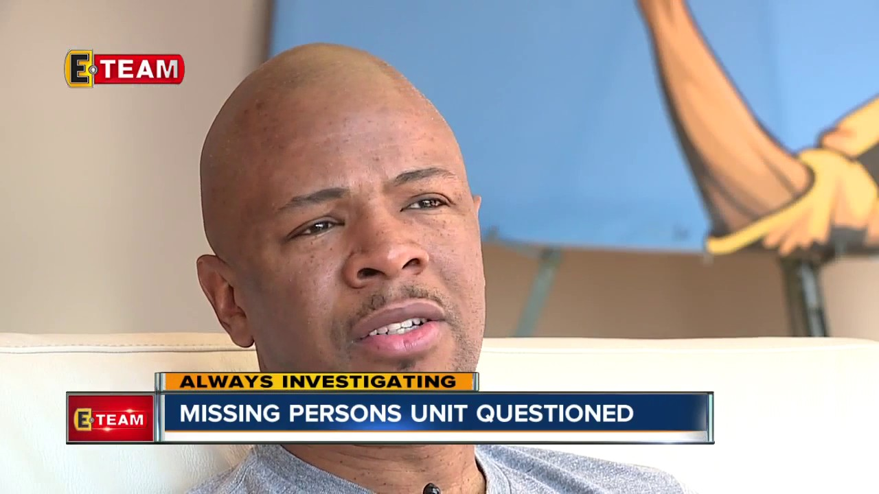 Cuyahoga County Missing Persons Unit Questioned