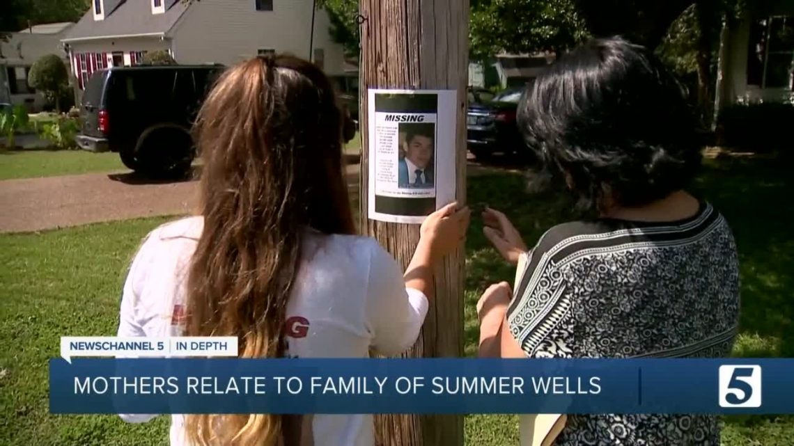 Mothers of missing children relate to Wells family