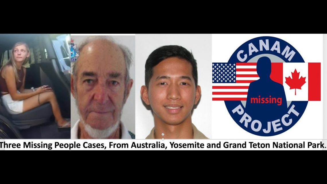 Missing 411- David Paulides Presents Missing Cases from Australia, Yosemite and Grand Teton NP