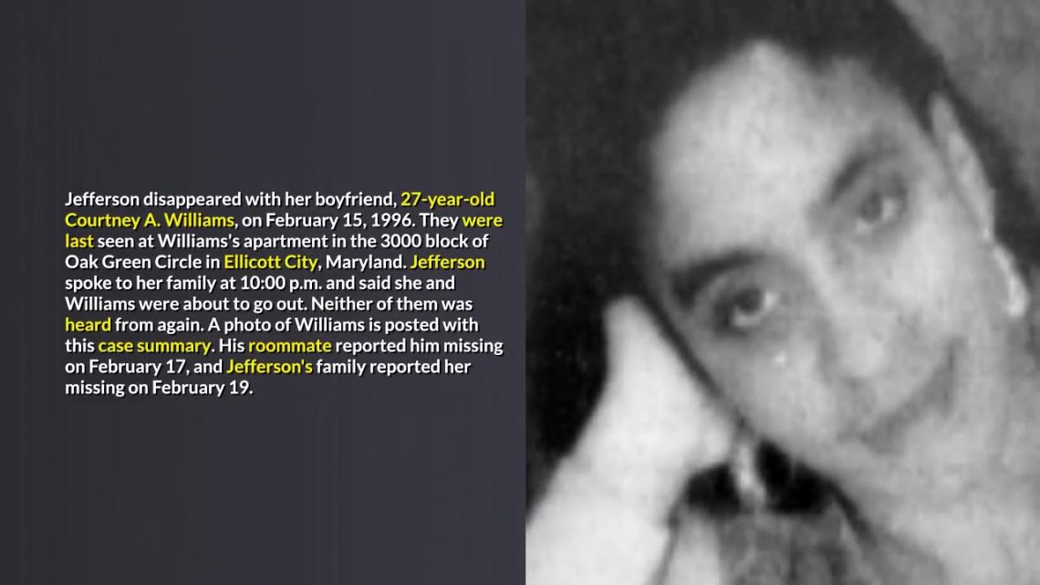Maryland Unsolved Missing Persons Cases That Remain Unsolved #3 (Reedit)