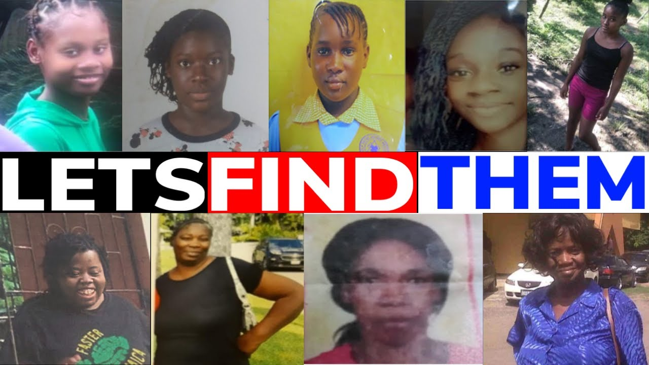 MISSING Jamaican WOMEN and CHILDREN (May 1, 2021)