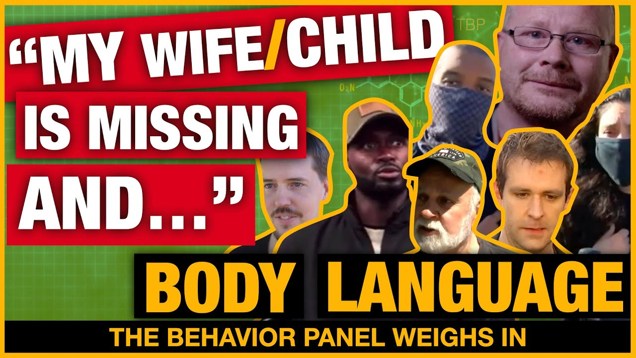 Missing Persons Cases Body Language ft. Barry Morphew + Trezell and Jacqueline West (2021)
