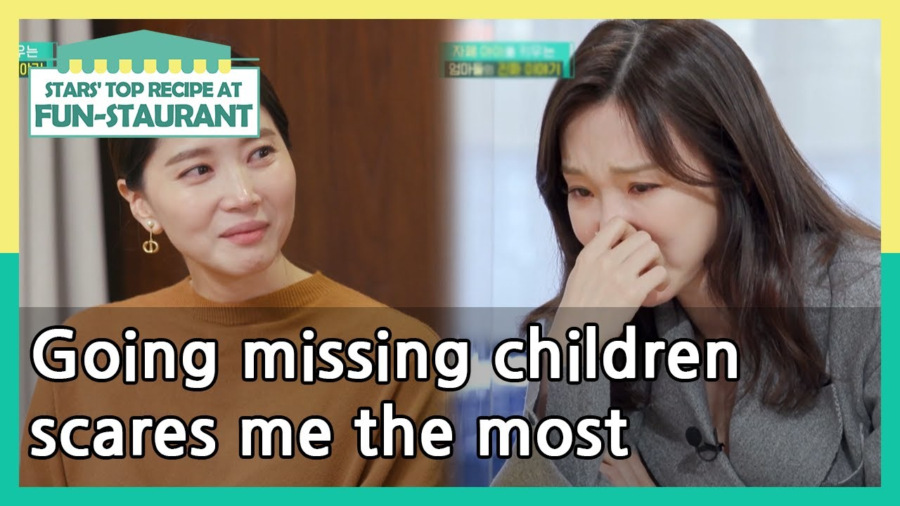 Going missing children scares me the most (Stars' Top Recipe at Fun-Staurant) | KBS WORLD TV 210316