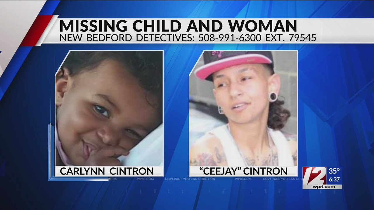 New Bedford police looking for missing child, woman
