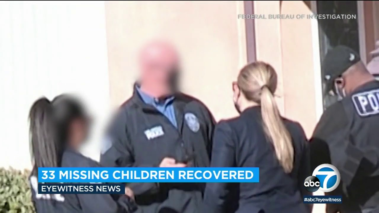 33 missing children recovered in joint Los Angeles-based operation | ABC7