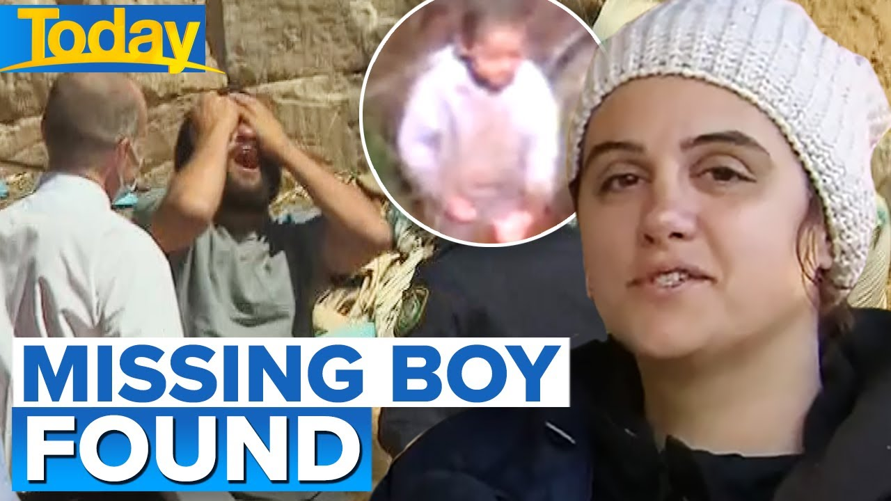 Missing toddler back home with family after four-day ordeal | Today Show Australia