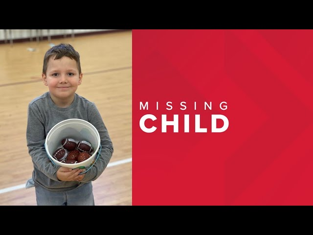 Officials searching for missing child near Arp