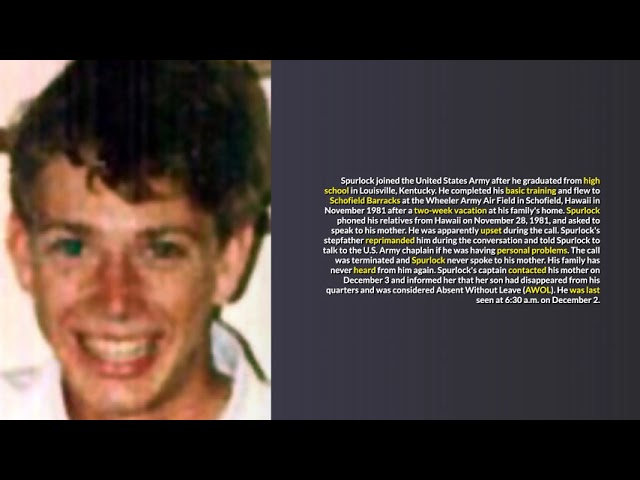 Hawaii Unsolved Missing Persons Cases #1
