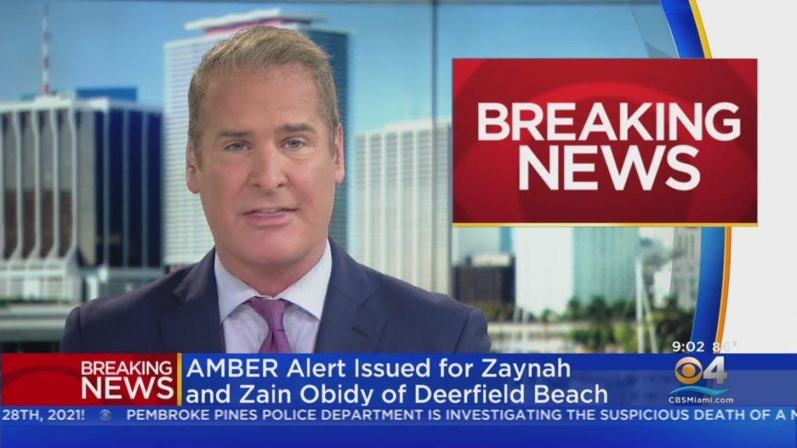 Amber Alert Issued Of South Florida Missing Children