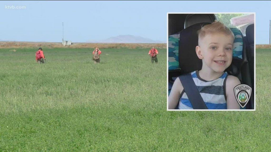 2 weeks after 5-year-old boy goes missing, the Fruitland community comes together to help the family