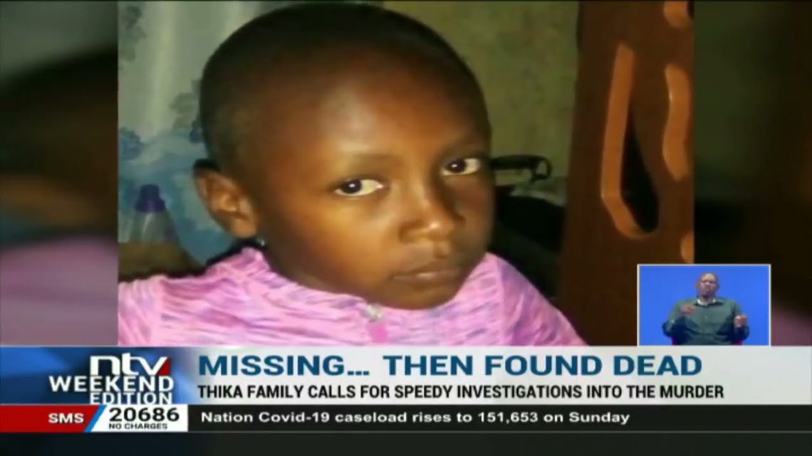 Body of 9-year-old boy who went missing in Thika found in thicket