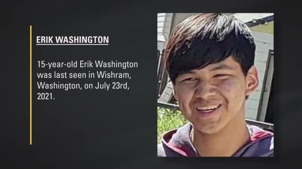 MISSING: If you have seen Erik Washington or have any information, please call 1-800-THE-LOST.