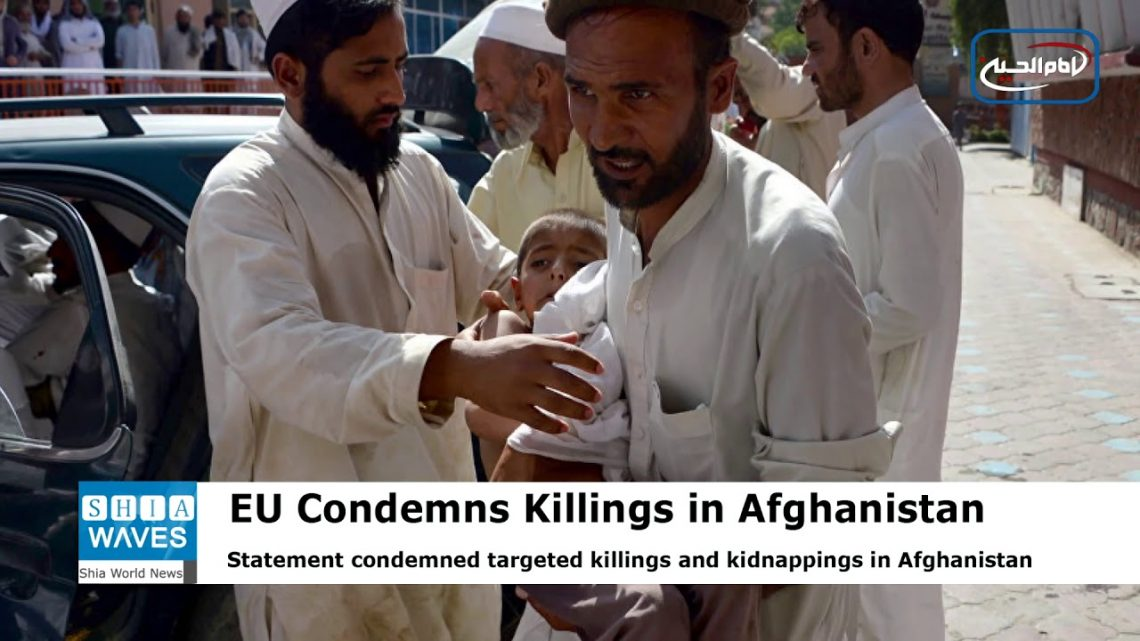 EU, Intl Missions Condemn Kidnappings, Targeted Killings