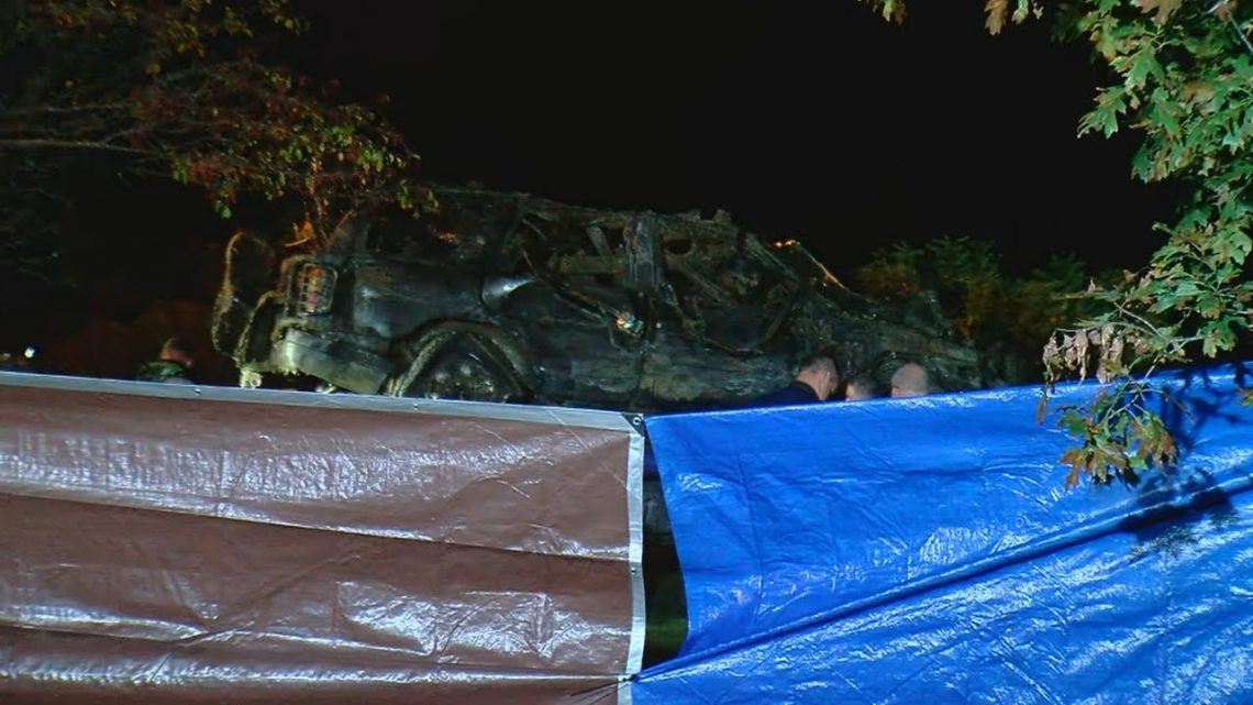 Car pulled from river officially connected to missing persons case from 2002