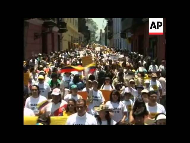 Thousands across Latin America, US protest kidnappings